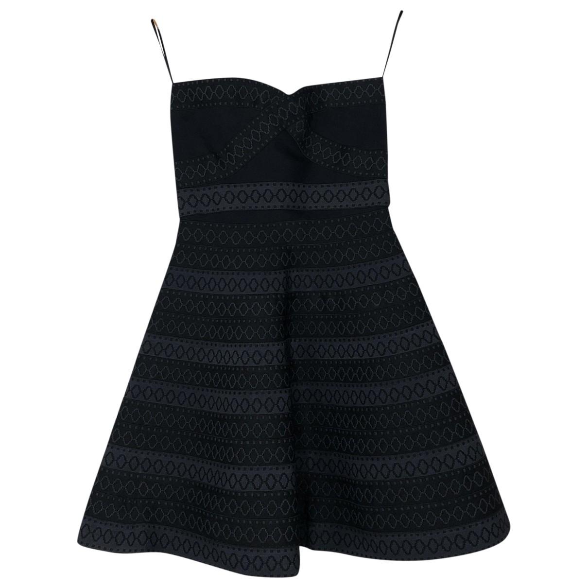 Maje \N Kleid in  Marine Polyester
