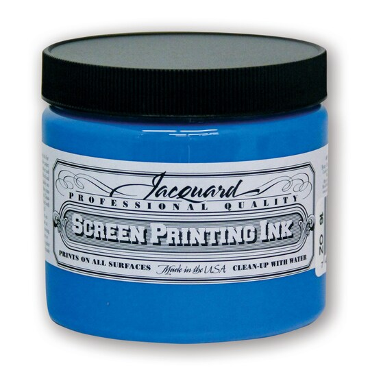 Jacquard Professional Screen Printing Ink, 16 oz in Sky Blue   Michaels®