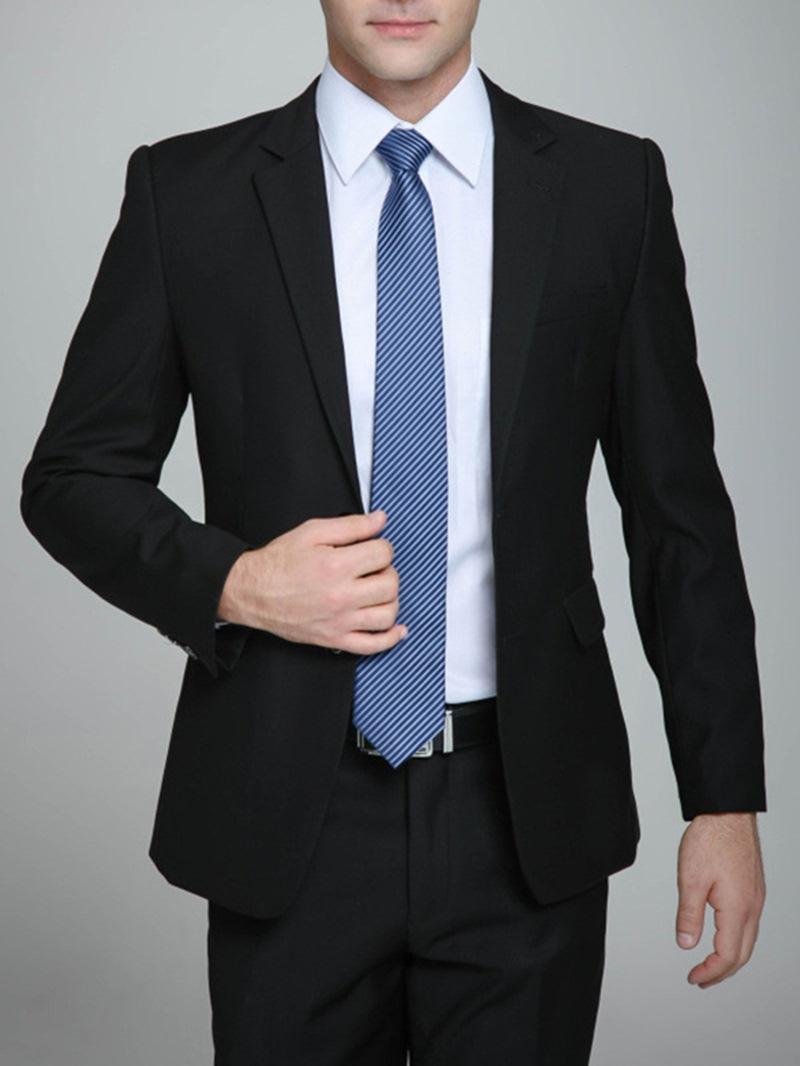 Ericdress Black Noble Gentlemen Suit