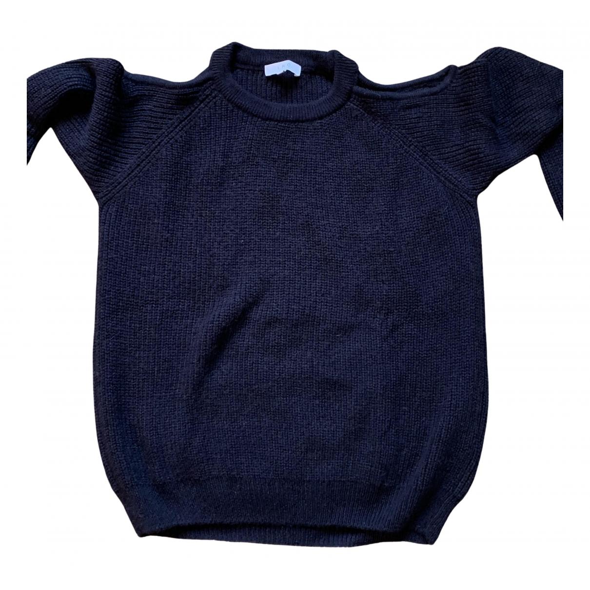 Iro \N Pullover in  Schwarz Wolle