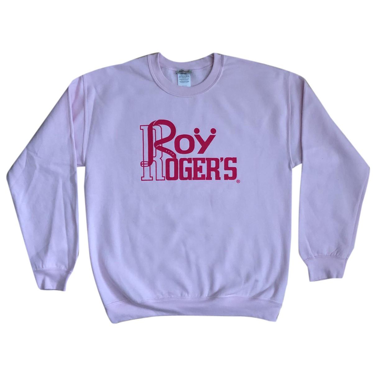 Roy Rogers - Pull   pour femme en coton - rose