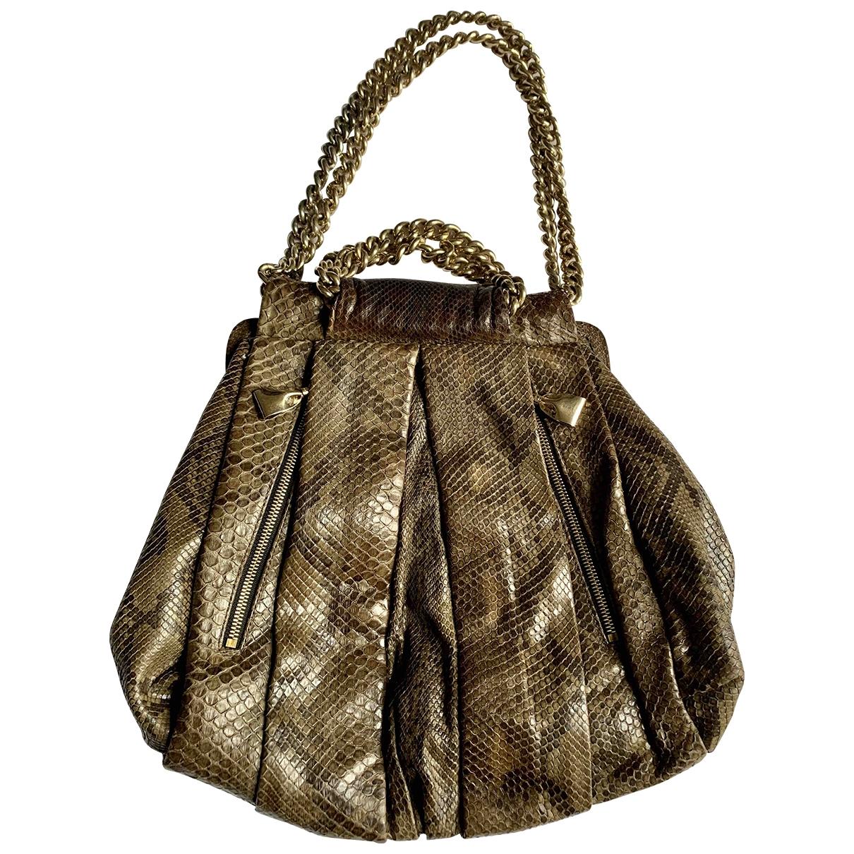 Christian Louboutin \N Brown Leather handbag for Women \N