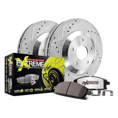 Power Stop Z23 Evolution Sport Performance 1-Click Front Brake Kit - K5263
