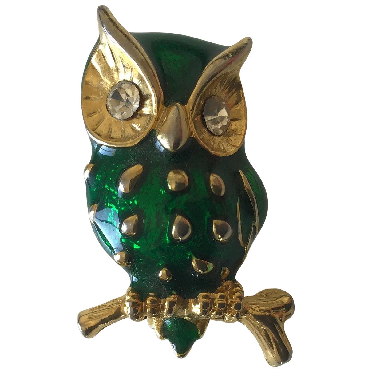 Swarovski - Broche   pour femme en cristal - vert