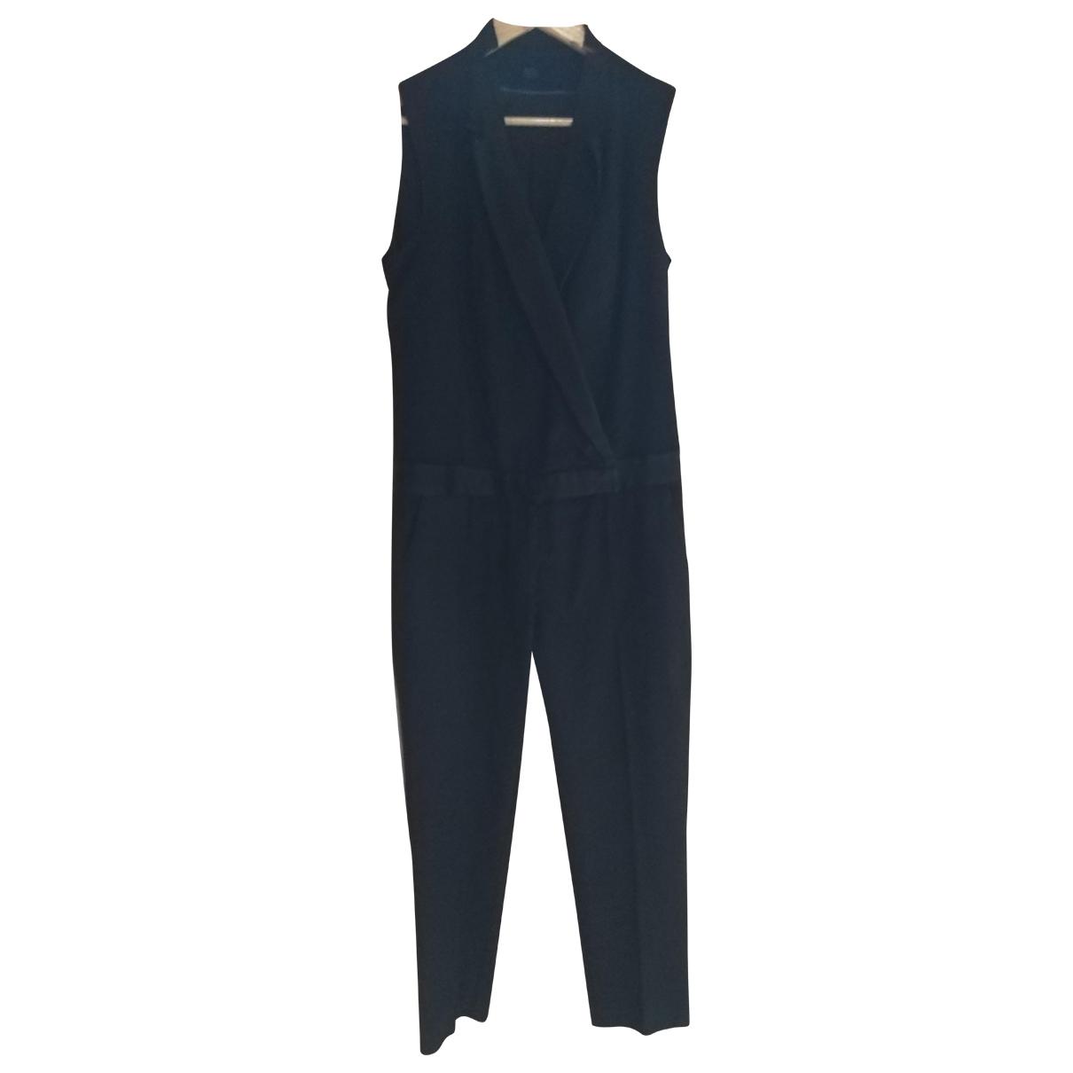 Comptoir Des Cotonniers \N Jumpsuit in  Schwarz Wolle