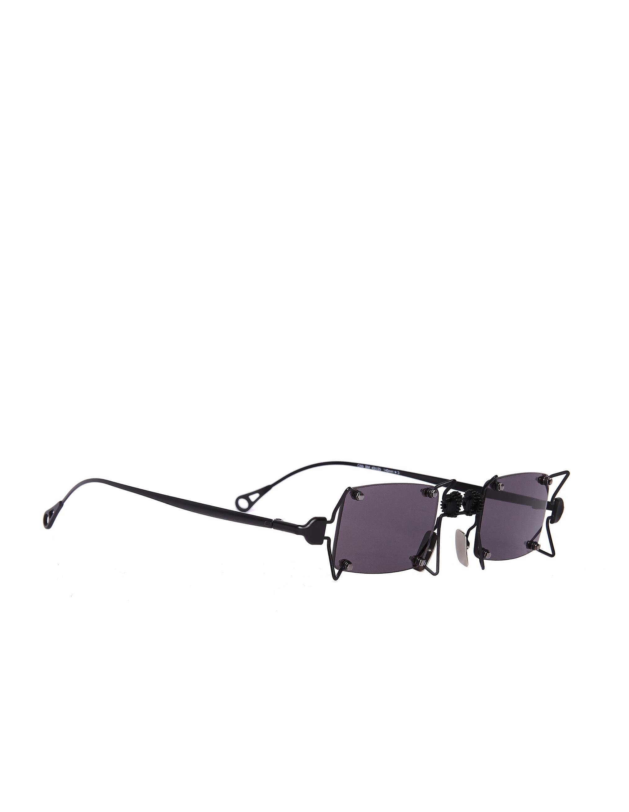 INNERRAUM Black Titanium Sunglasses