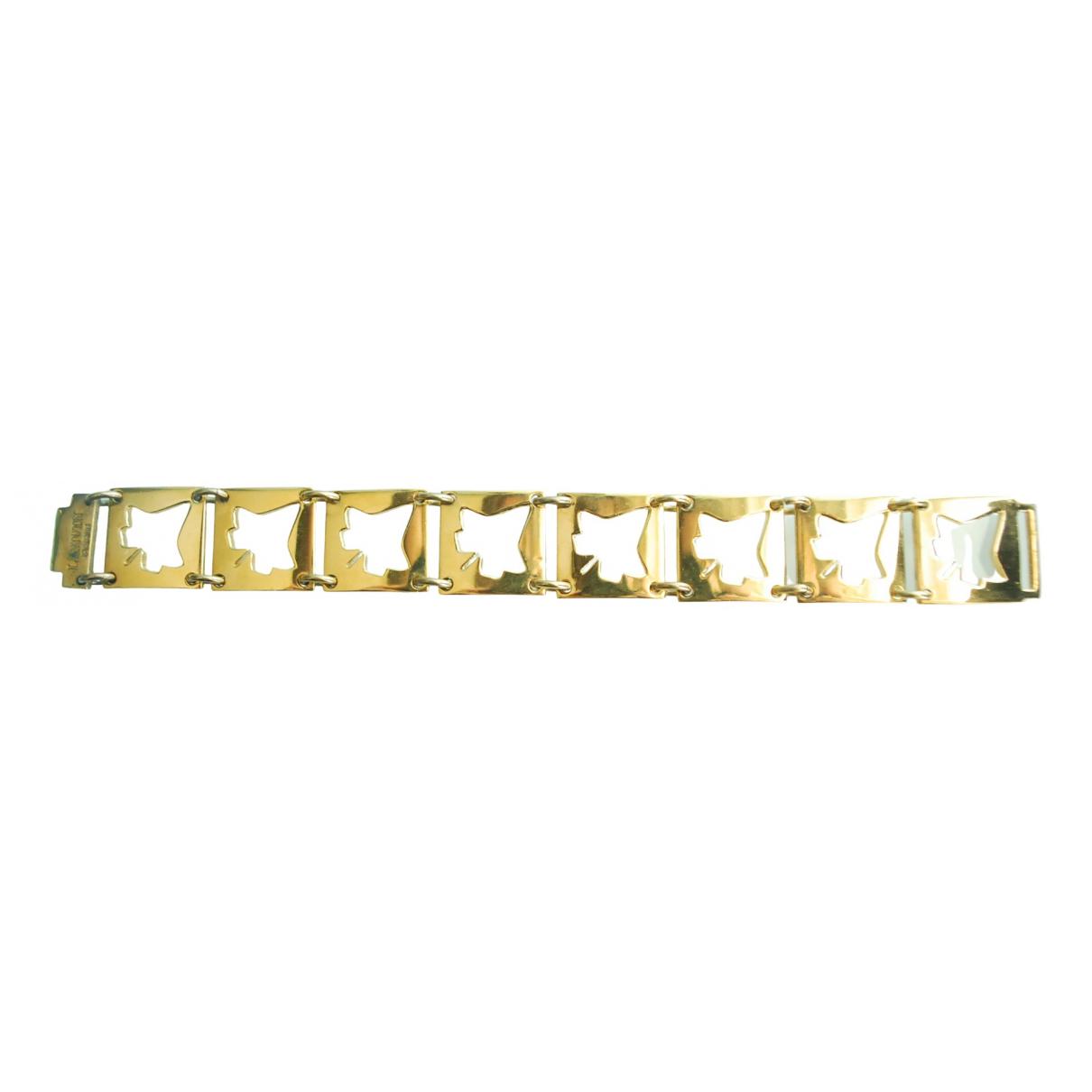 Lanvin - Bracelet   pour femme en metal - dore