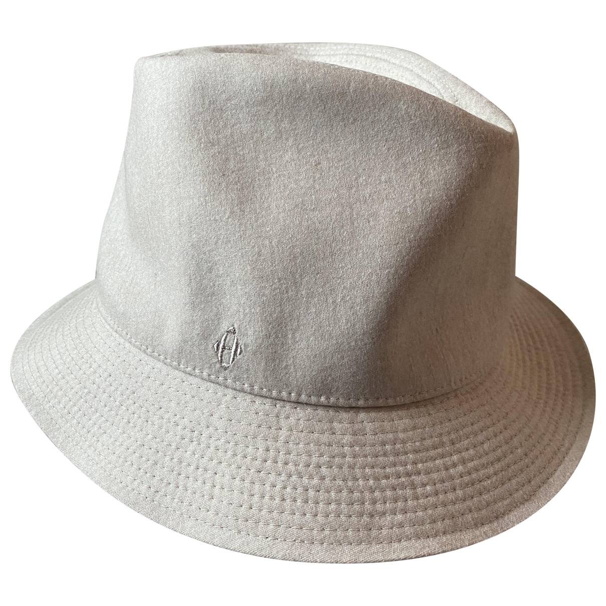 Hermès \N Beige Wool hat for Women 58 cm