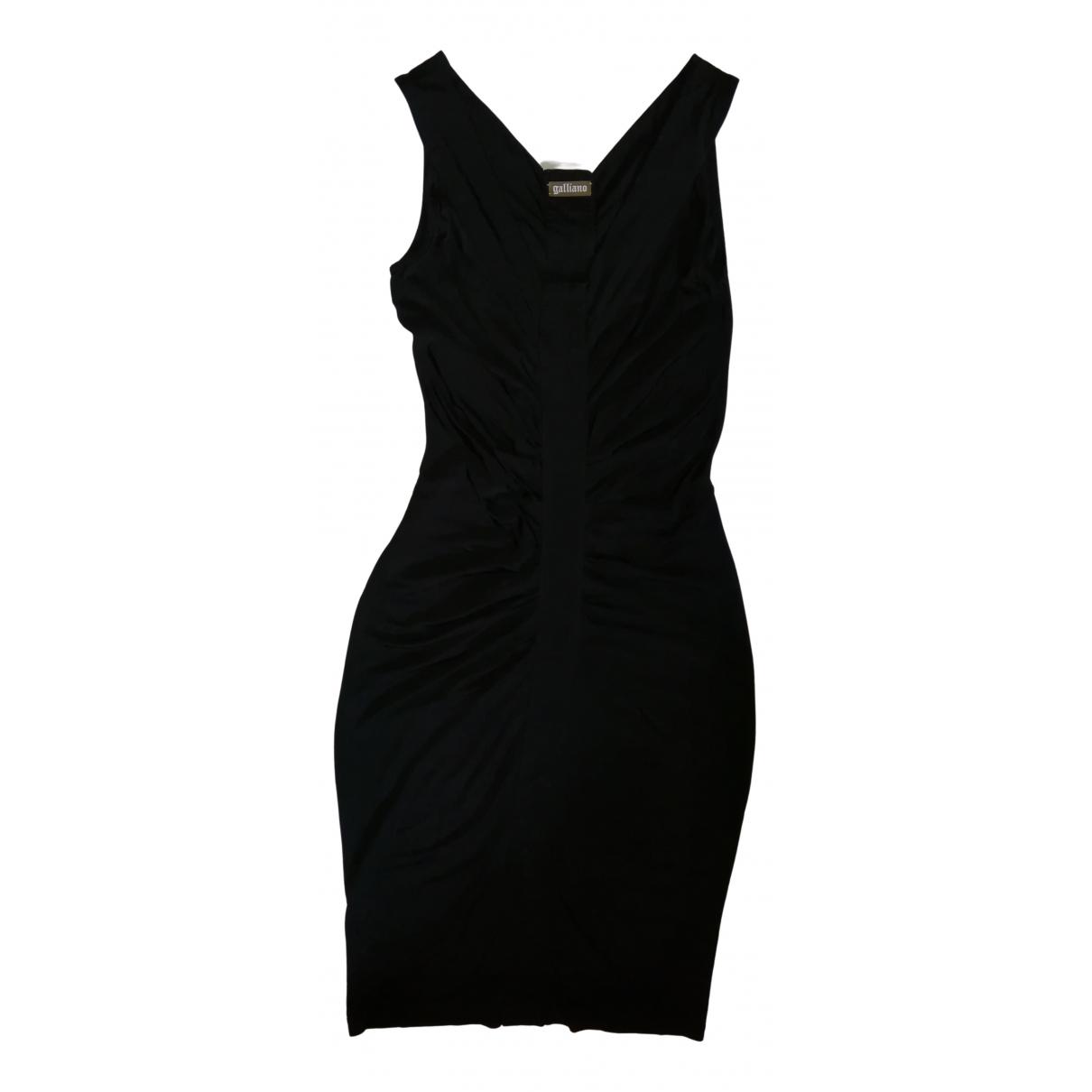 Galliano N Black dress for Women 42 IT