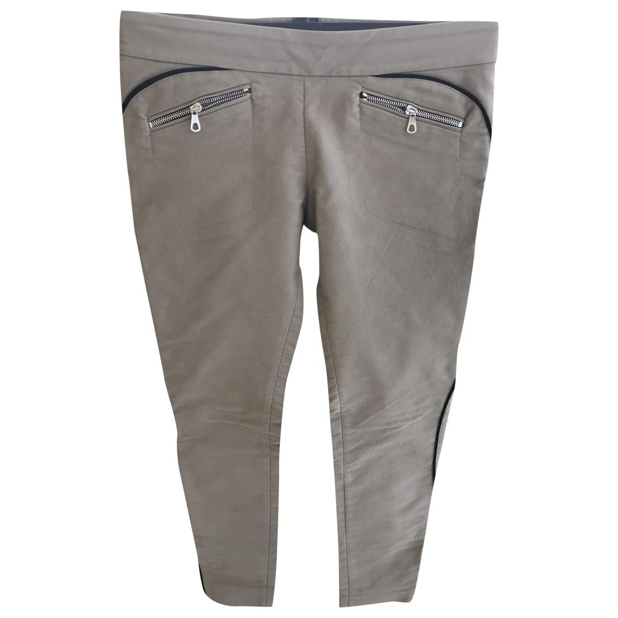 Balenciaga - Pantalon   pour femme en coton - beige