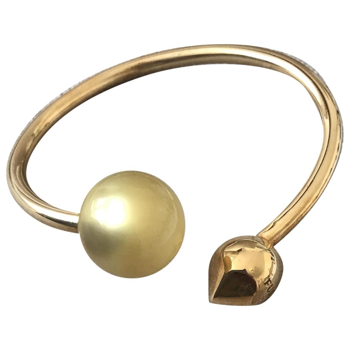 Furla - Bracelet   pour femme en or jaune - dore