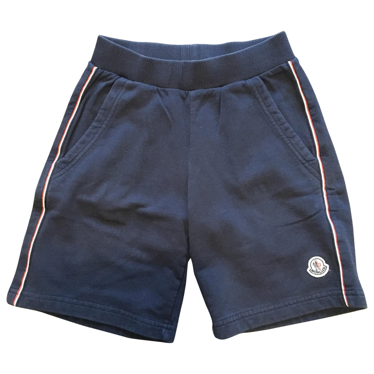 Moncler \N Blue Cotton Shorts for Kids 10 years - up to 142cm FR