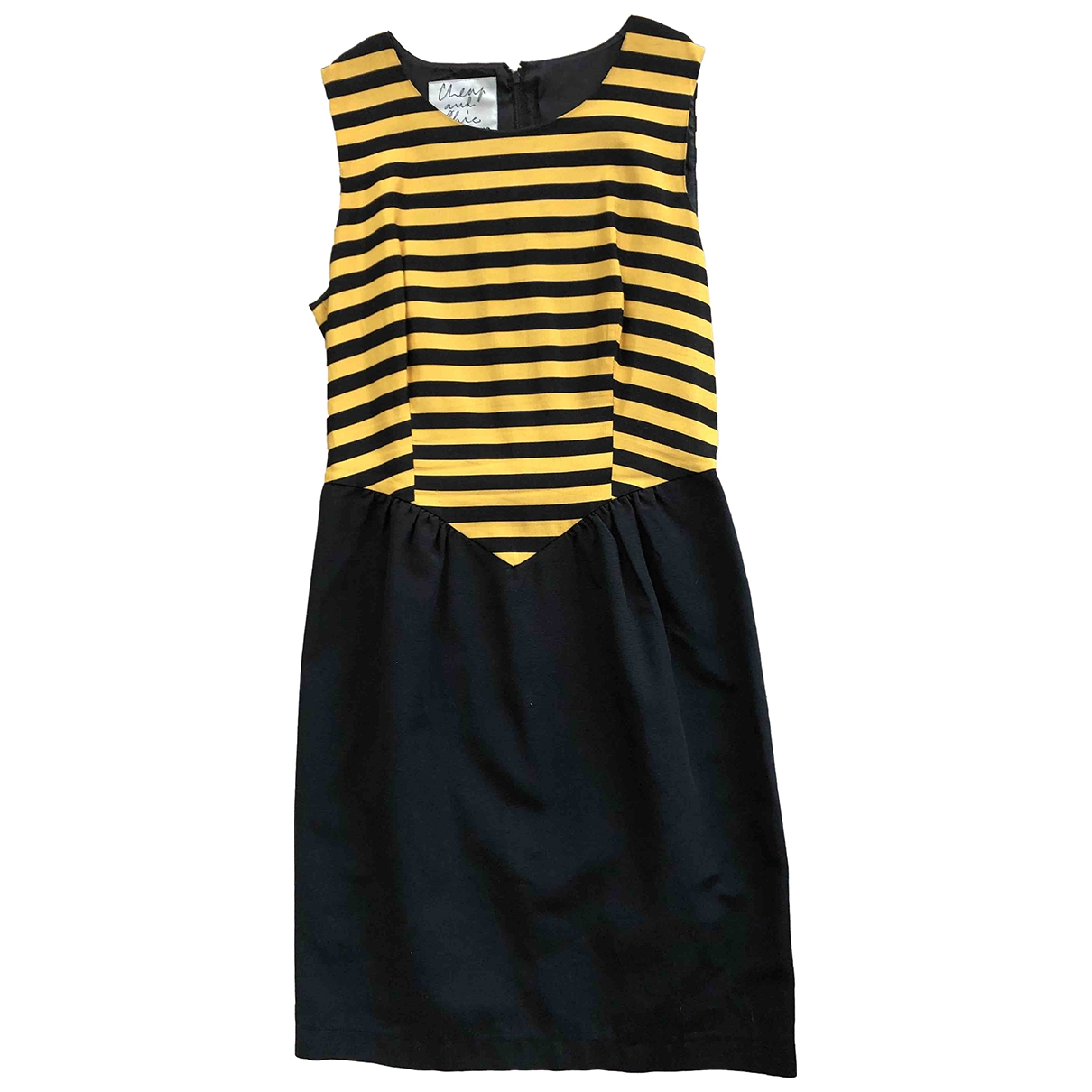 Moschino Cheap And Chic - Robe   pour femme en coton - jaune