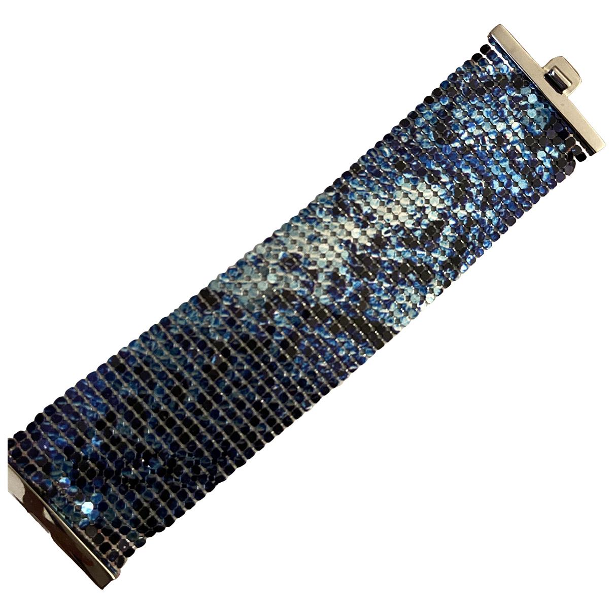 Paco Rabanne \N Blue Metal bracelet for Women \N