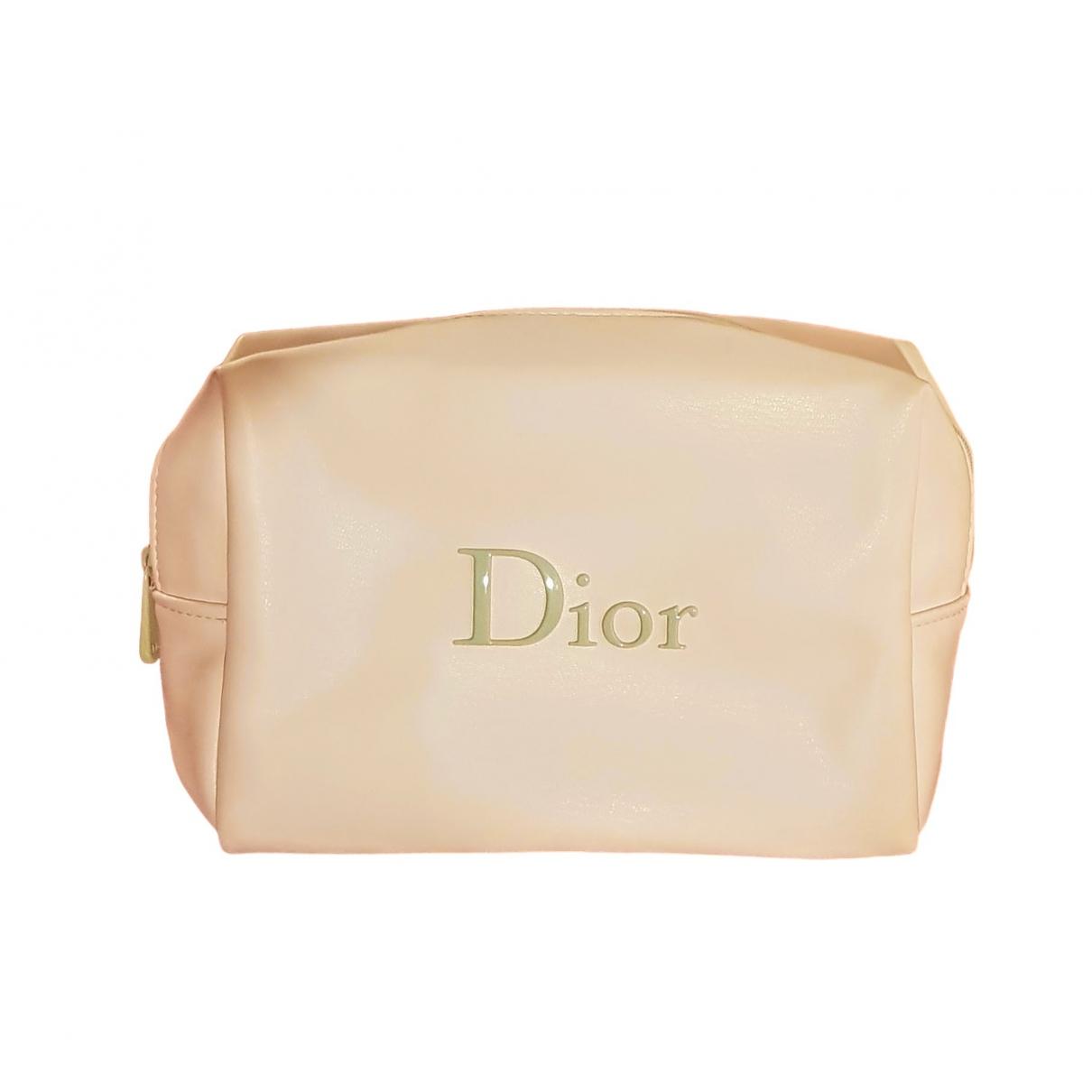 Dior - Sac de voyage   pour femme - ecru