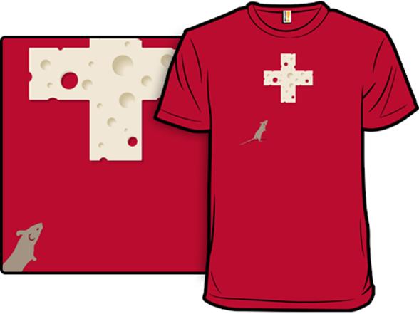Swiss Cheese T Shirt