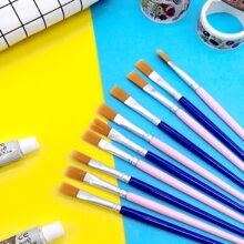 10pcs Random Color Art Brush