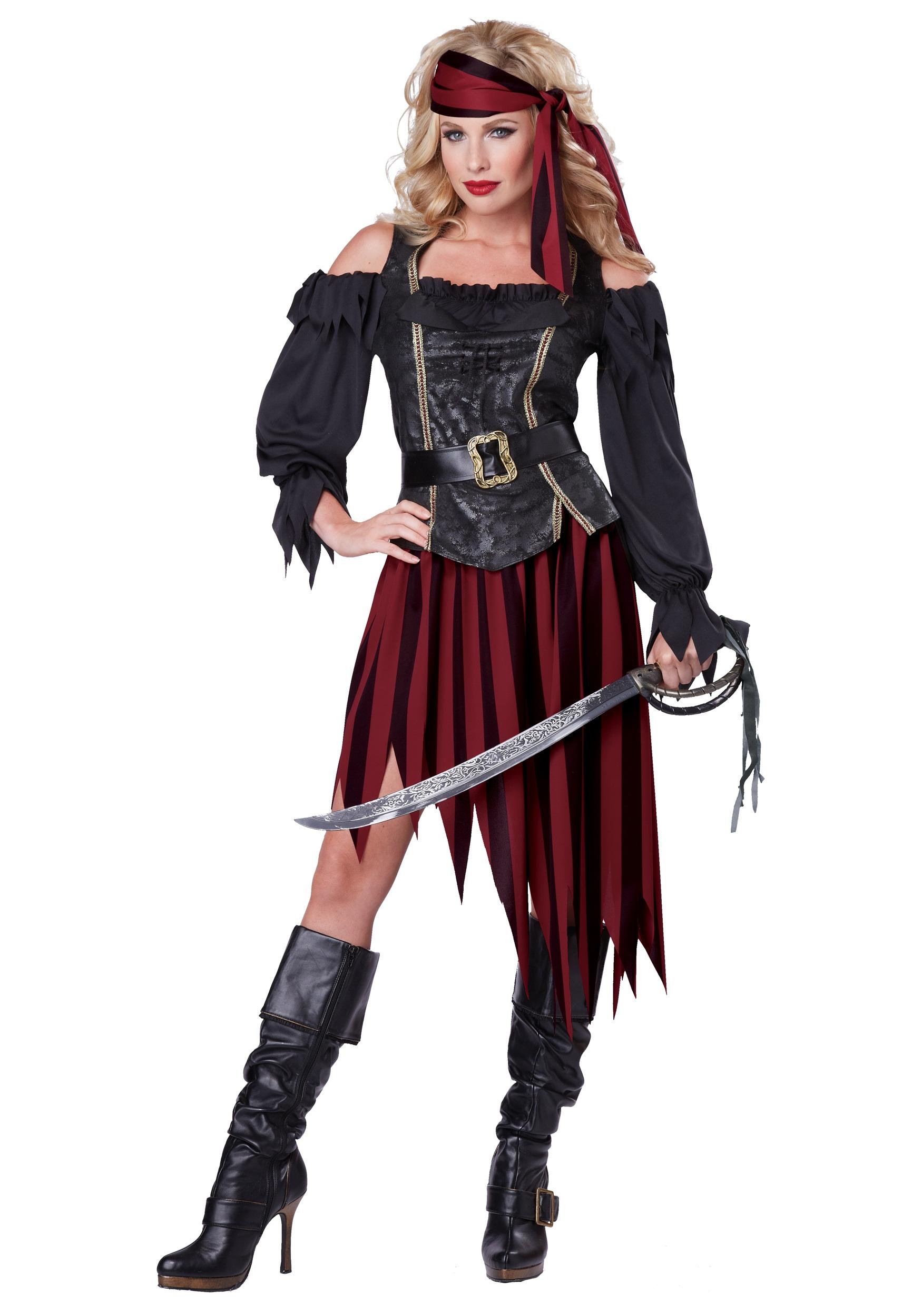 Women's Queen of the High Seas Costume