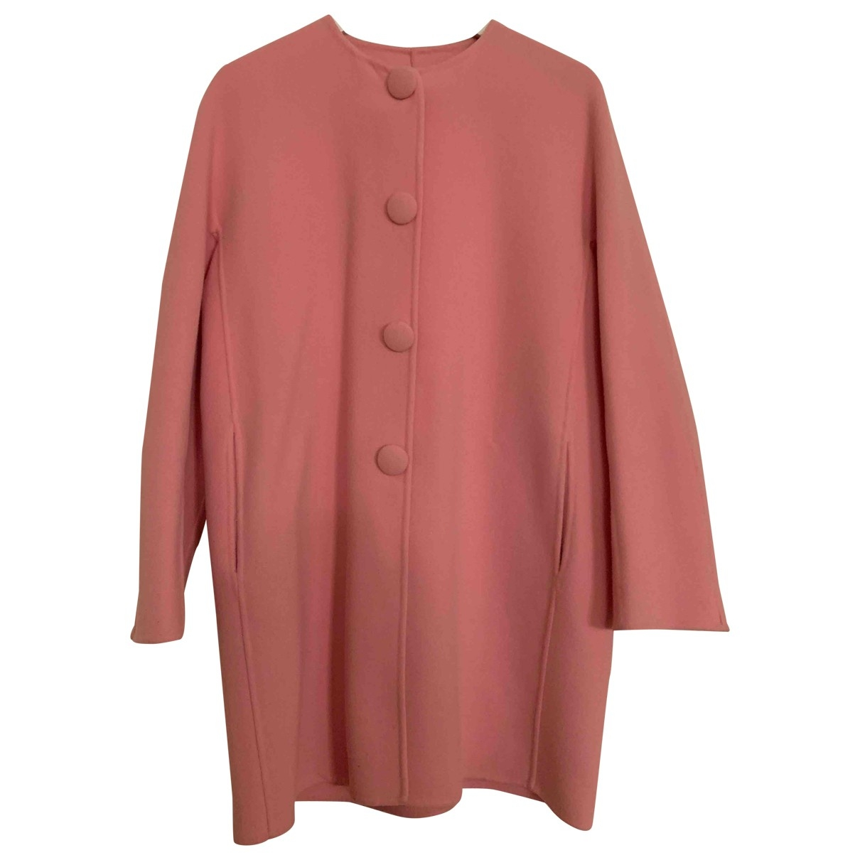 Ermanno Scervino \N Maentel in  Rosa Wolle