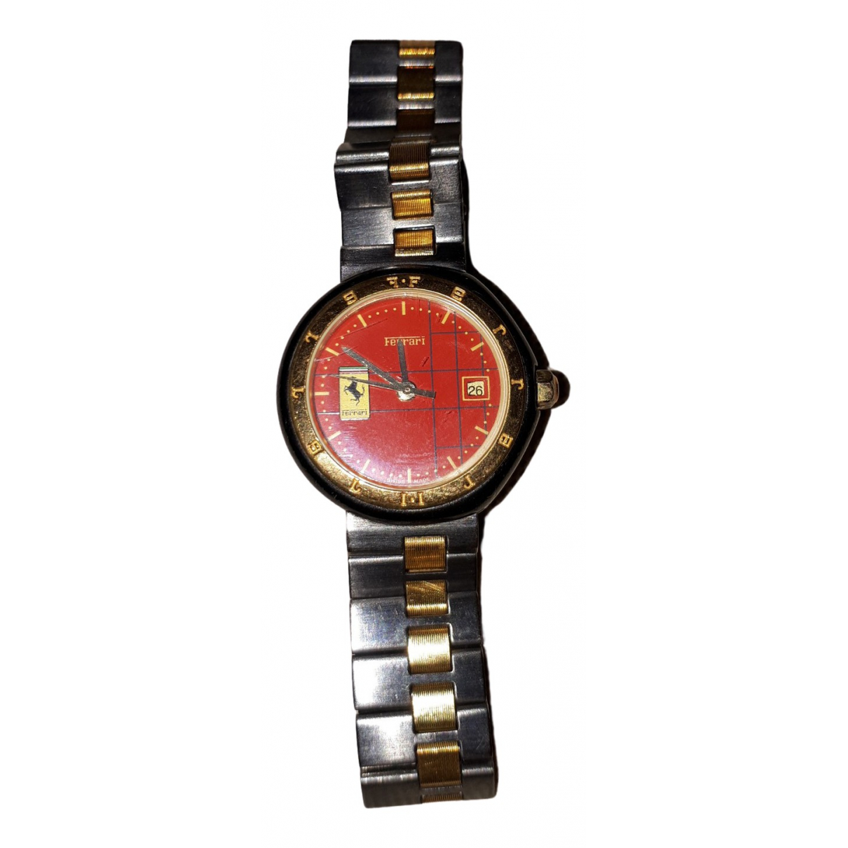 Non Signé / Unsigned N Steel watch for Women N