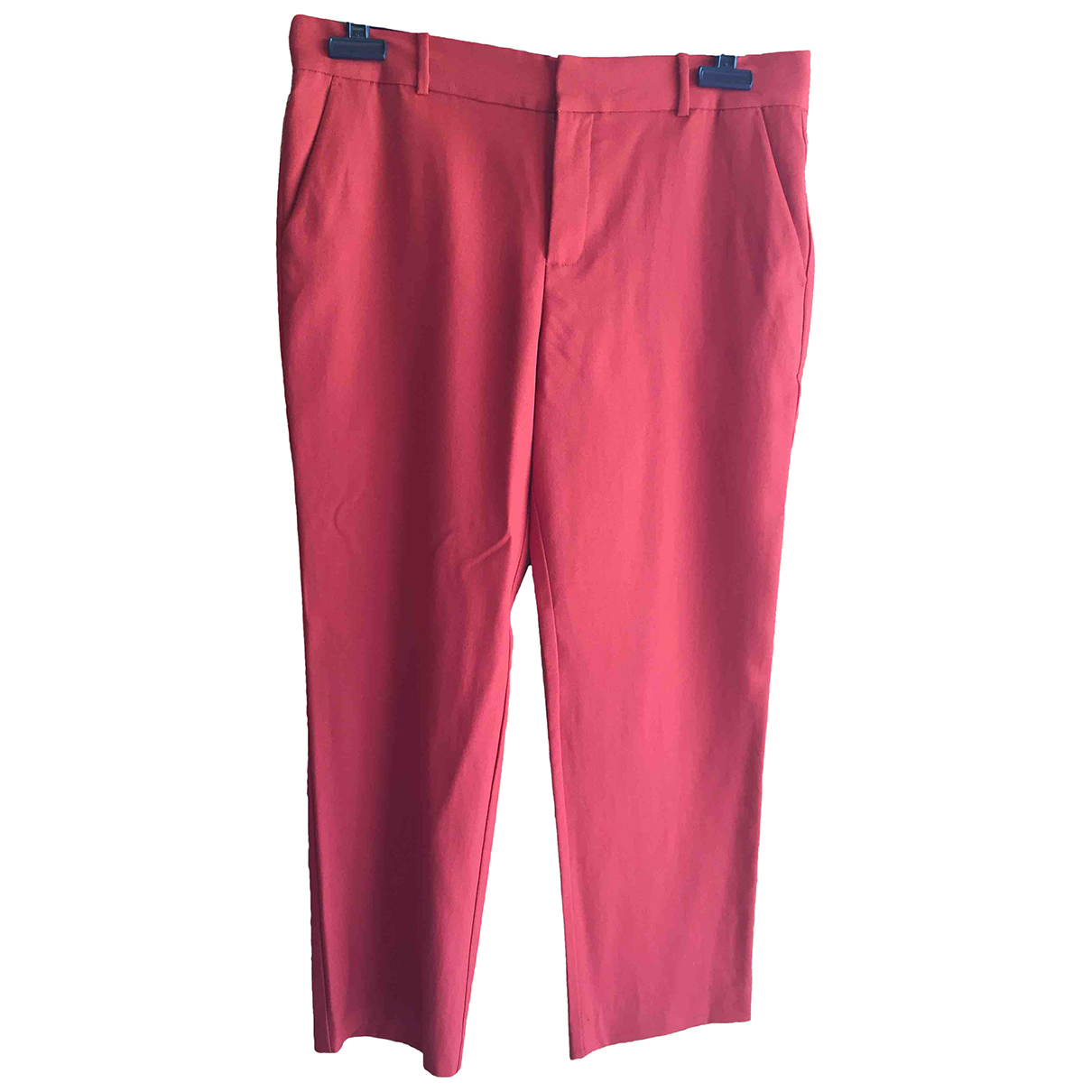 Pantalon recto de Lana Comptoir Des Cotonniers