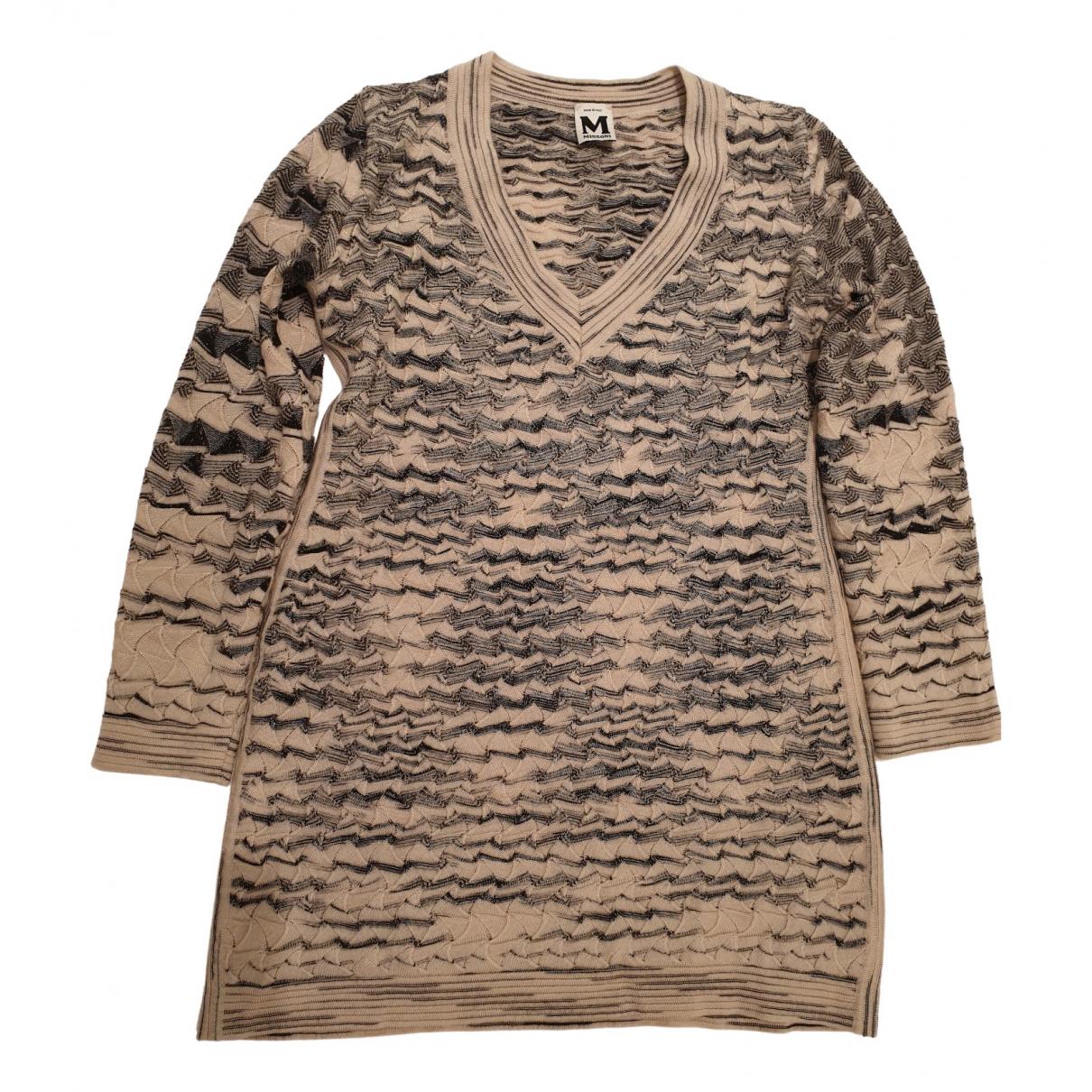 M Missoni - Pull   pour femme en laine - beige