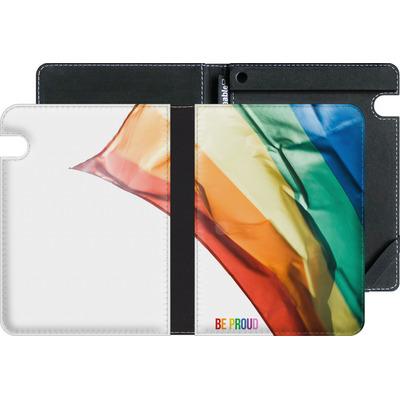 Amazon Kindle Voyage eBook Reader Huelle - Rainbow Flag  von caseable Designs