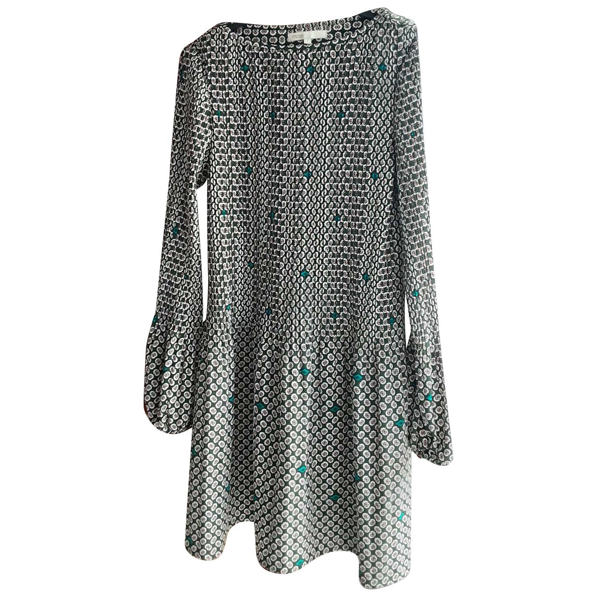 Maje Fall Winter 2019 Kleid in  Gruen Polyester