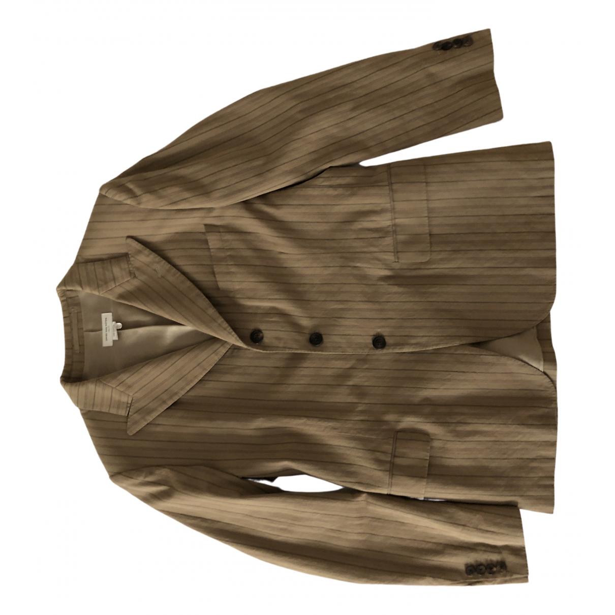 Dries Van Noten - Costumes   pour homme en coton - beige