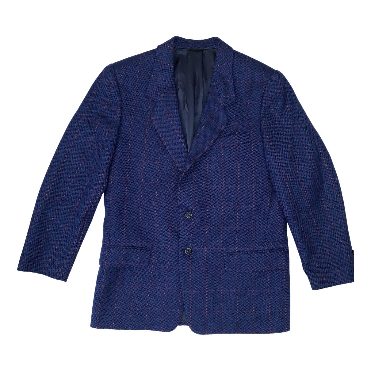 Iceberg \N Blue Wool coat  for Men XXS International