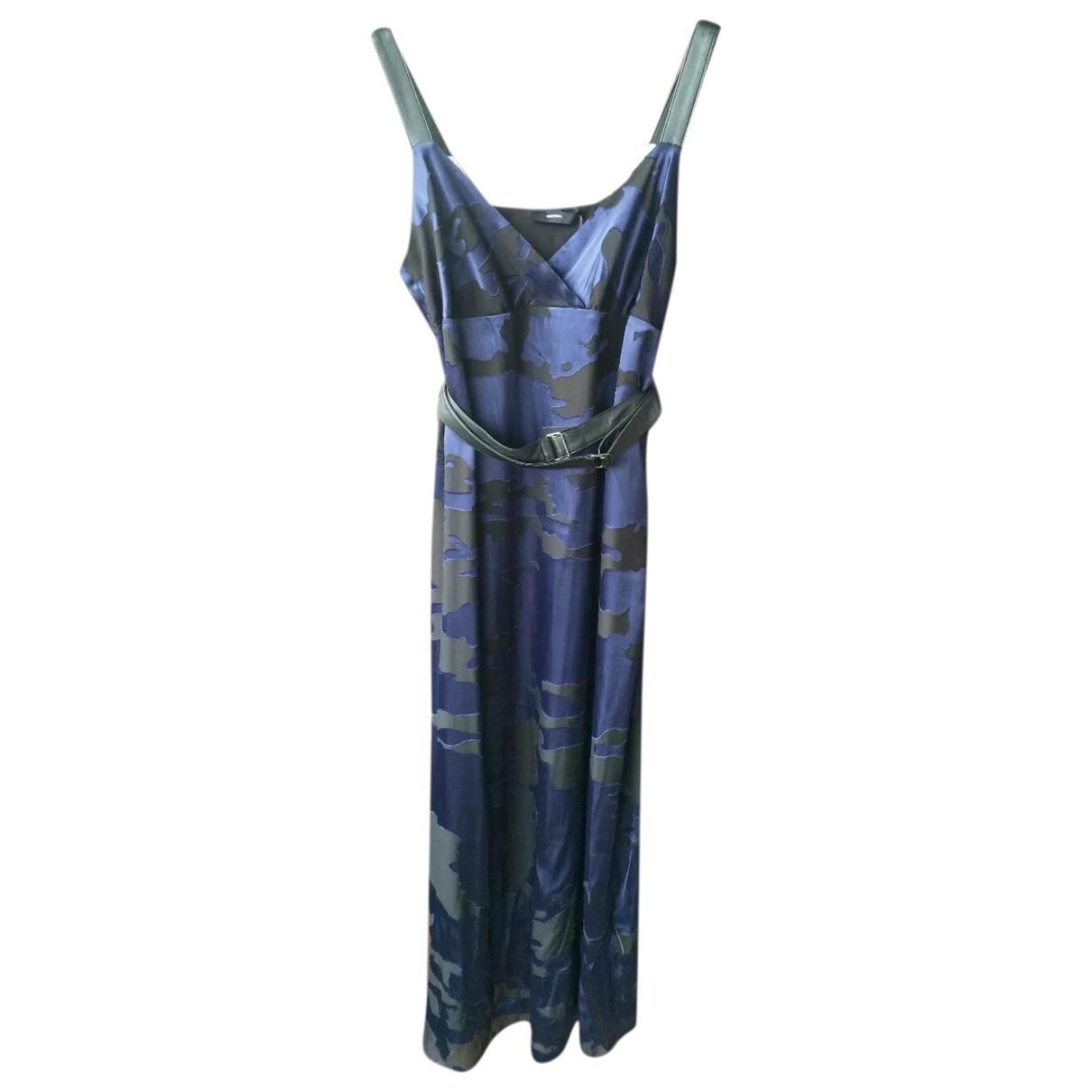 Diesel \N Kleid in  Blau Viskose