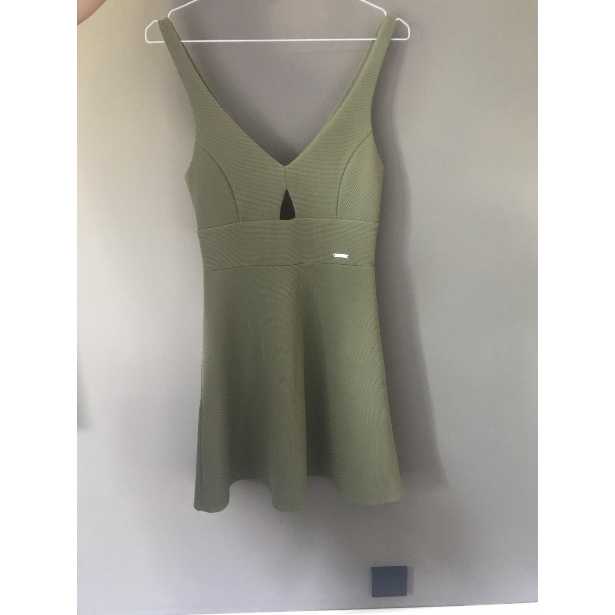 Guess \N Kleid in  Khaki Polyester