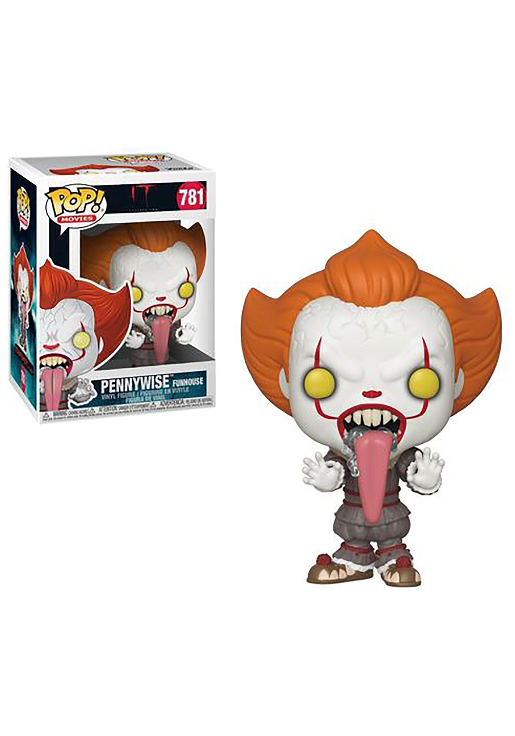 Pop! Movies: Pennywise with Dog Tongue- It: Chapter 2