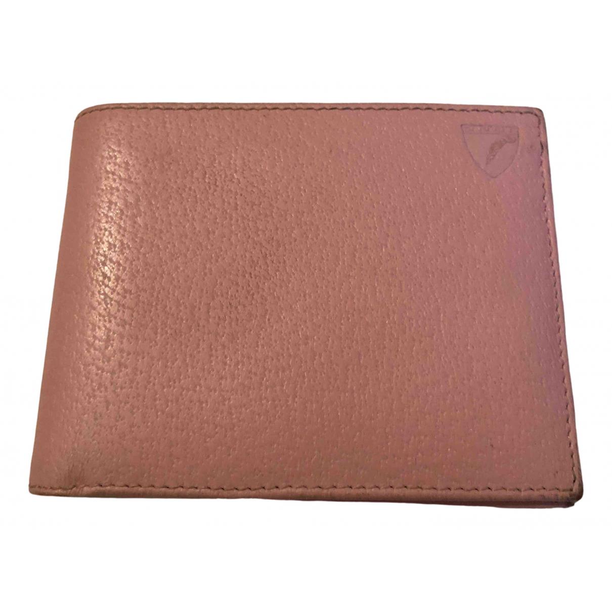 Aspinal Of London - Petite maroquinerie   pour femme en cuir - rose
