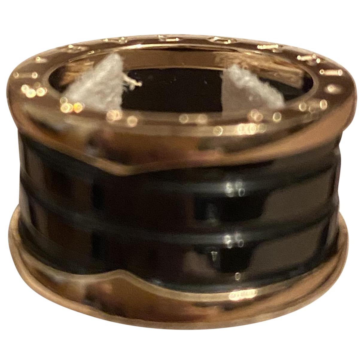 Bvlgari B.Zero1 Ring in  Schwarz Keramik