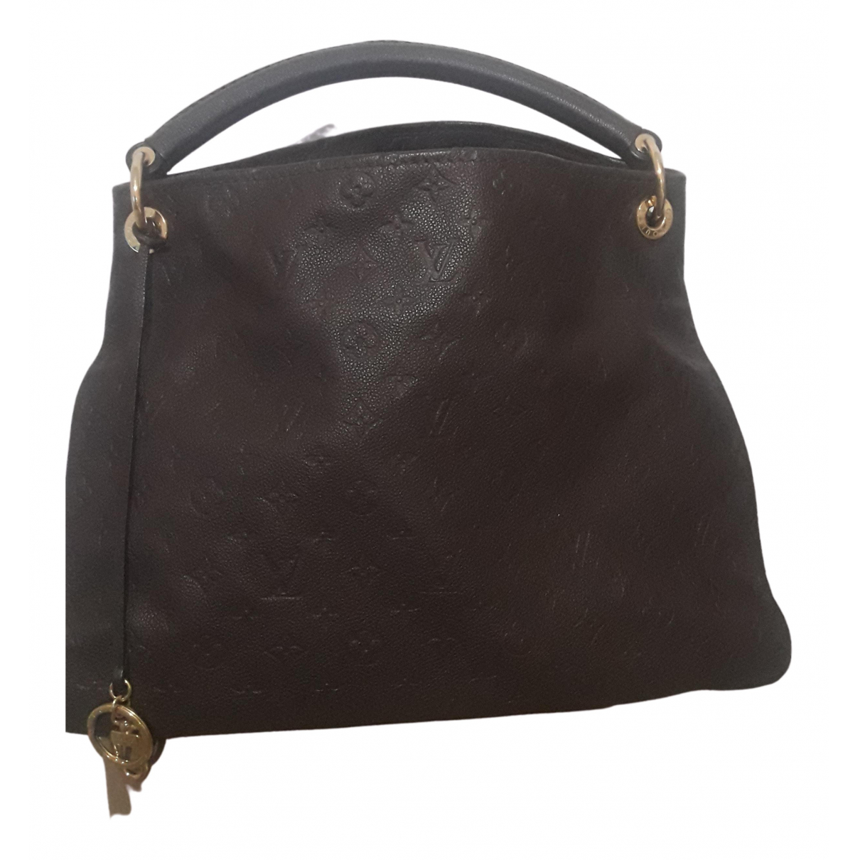 Louis Vuitton Artsy Brown Leather handbag for Women N