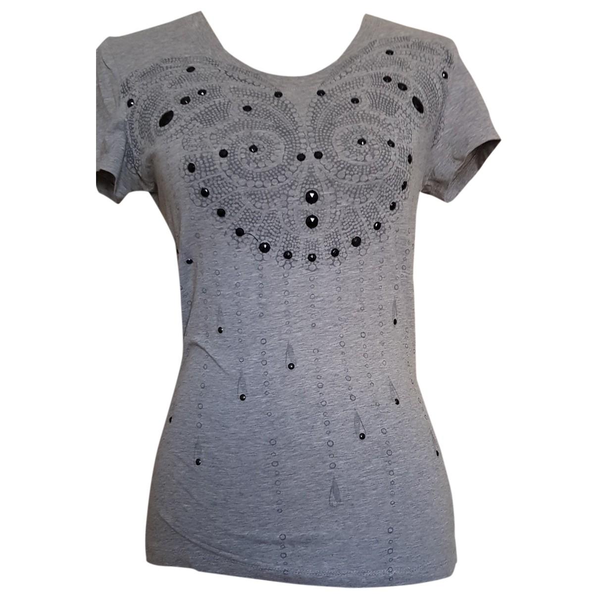 Moschino Love \N Top in  Grau Baumwolle