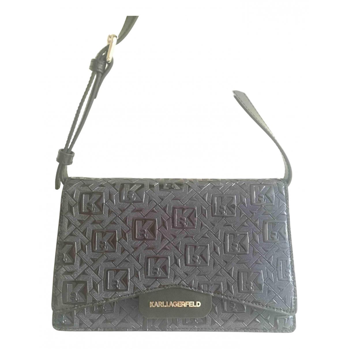 Karl Lagerfeld \N Blue handbag for Women \N