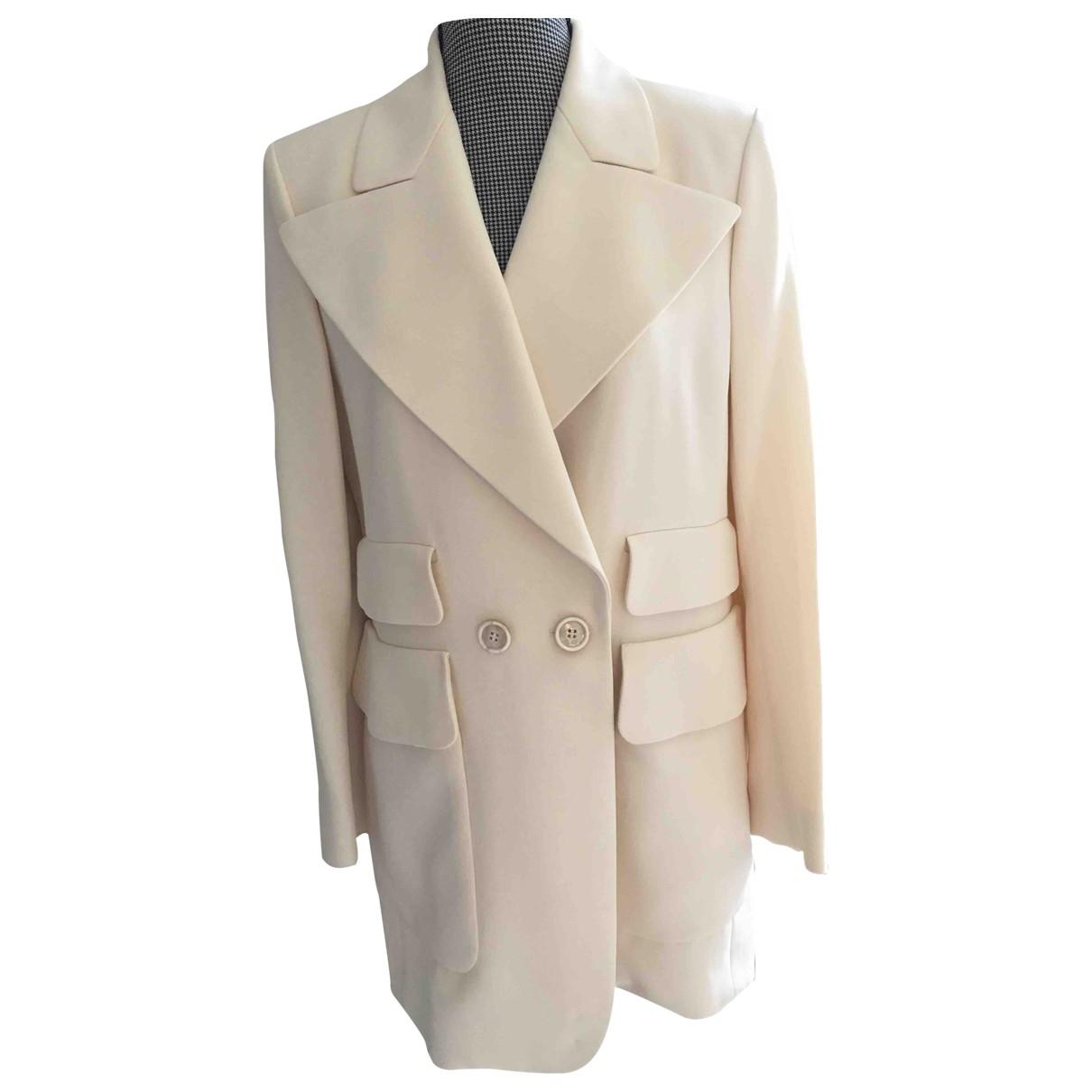 Chloé \N Beige Silk jacket for Women 40 FR