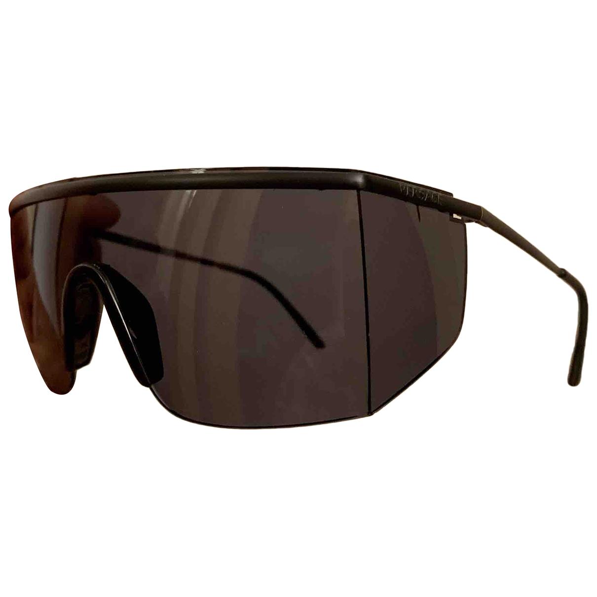 Gianni Versace \N Sonnenbrillen in  Schwarz Metall