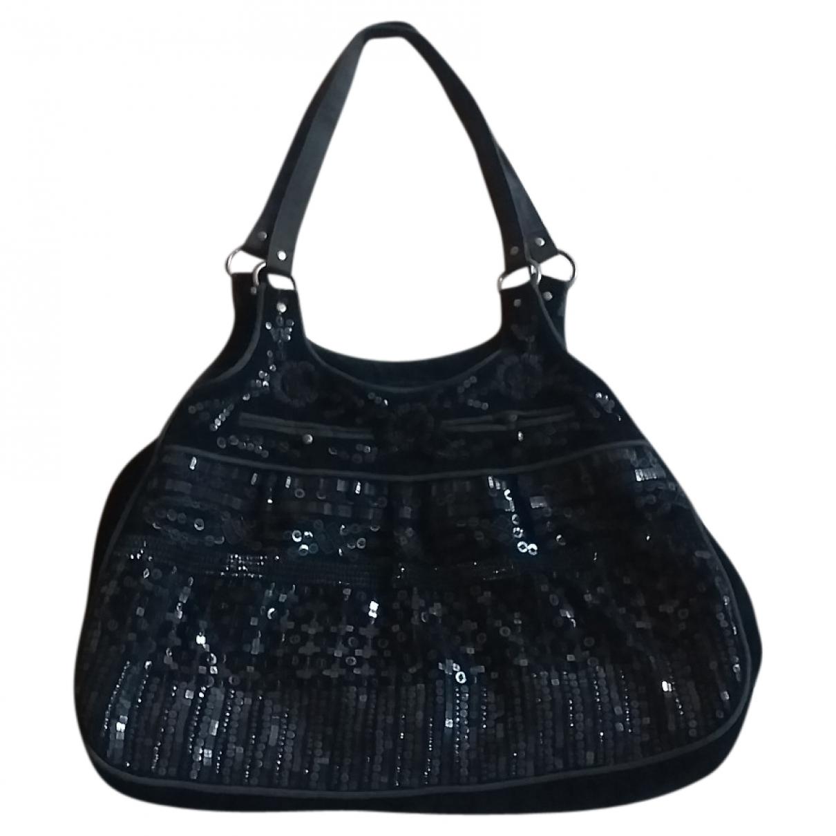 Antik Batik \N Black Velvet handbag for Women \N