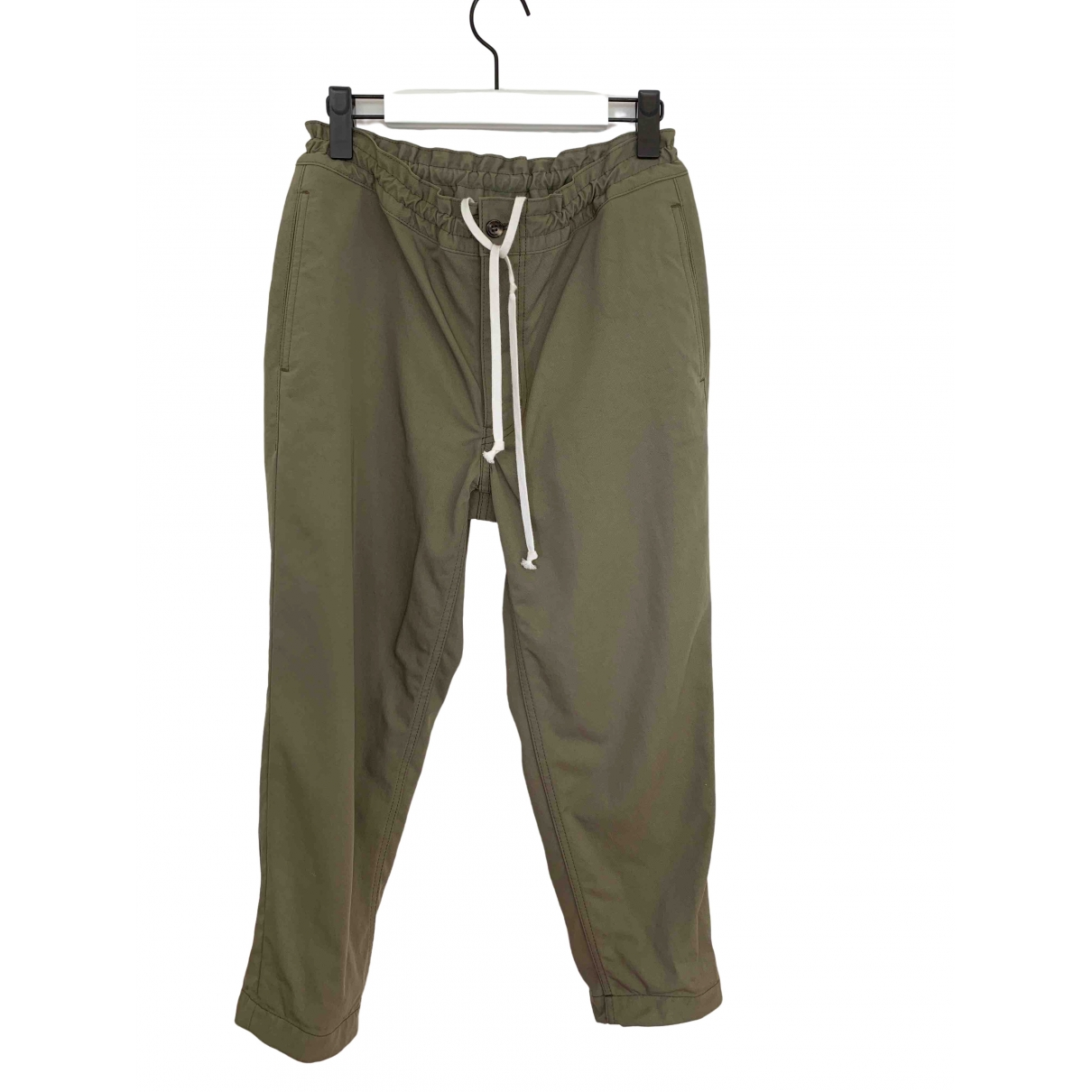 Comme Des Garcons \N Khaki Trousers for Men XS International