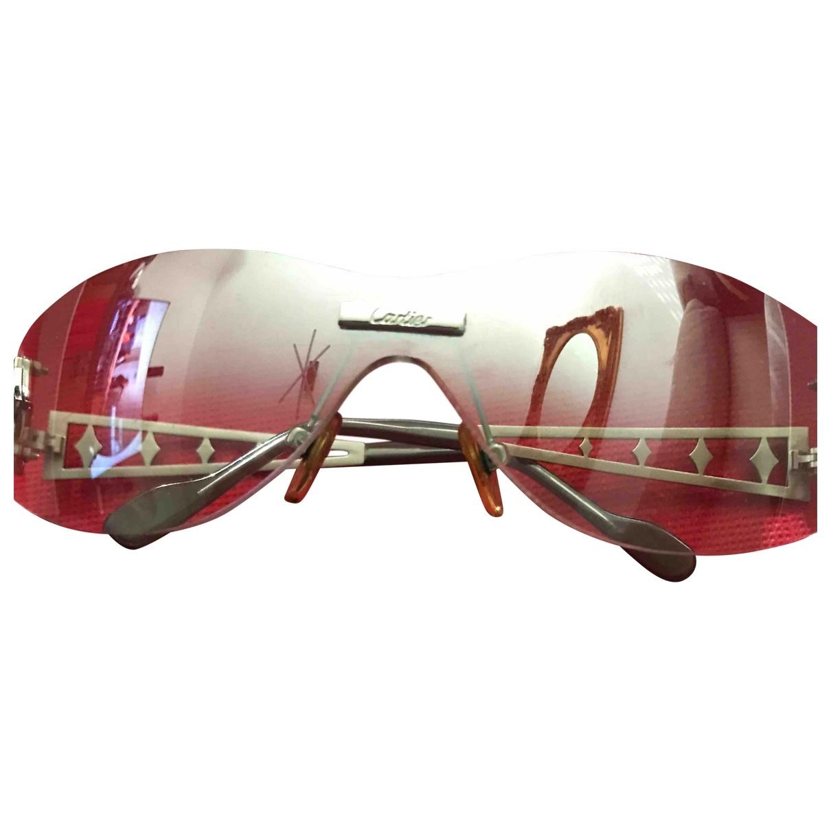 Cartier \N Sonnenbrillen in  Silber Metall