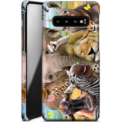 Samsung Galaxy S10 Smartphone Huelle - Africa Selfie von Howard Robinson