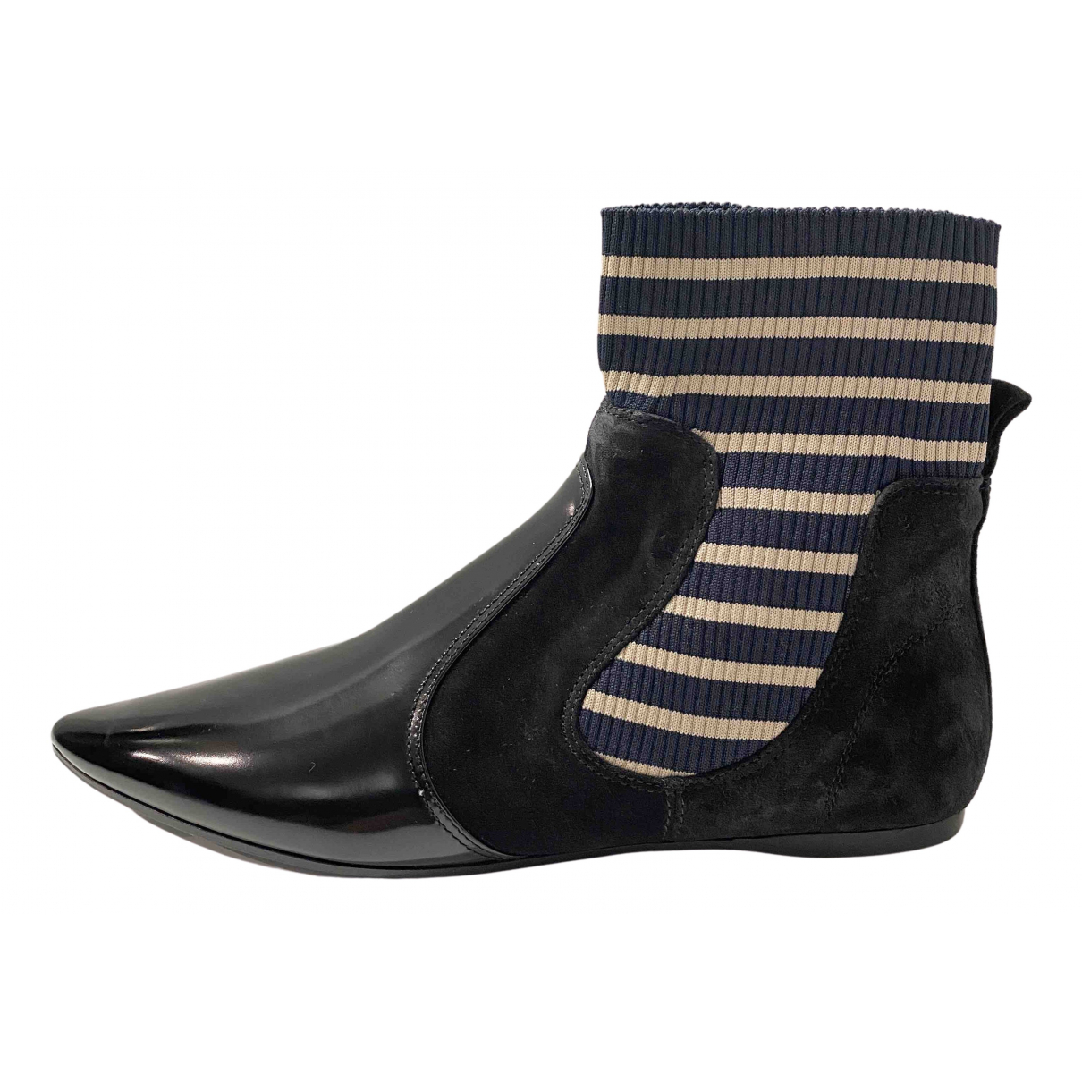 Acne Studios N Black Suede Ankle boots for Women 39 EU
