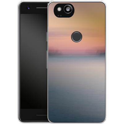 Google Pixel 2 Silikon Handyhuelle - Sea Sunset Abstract 2 von Joy StClaire