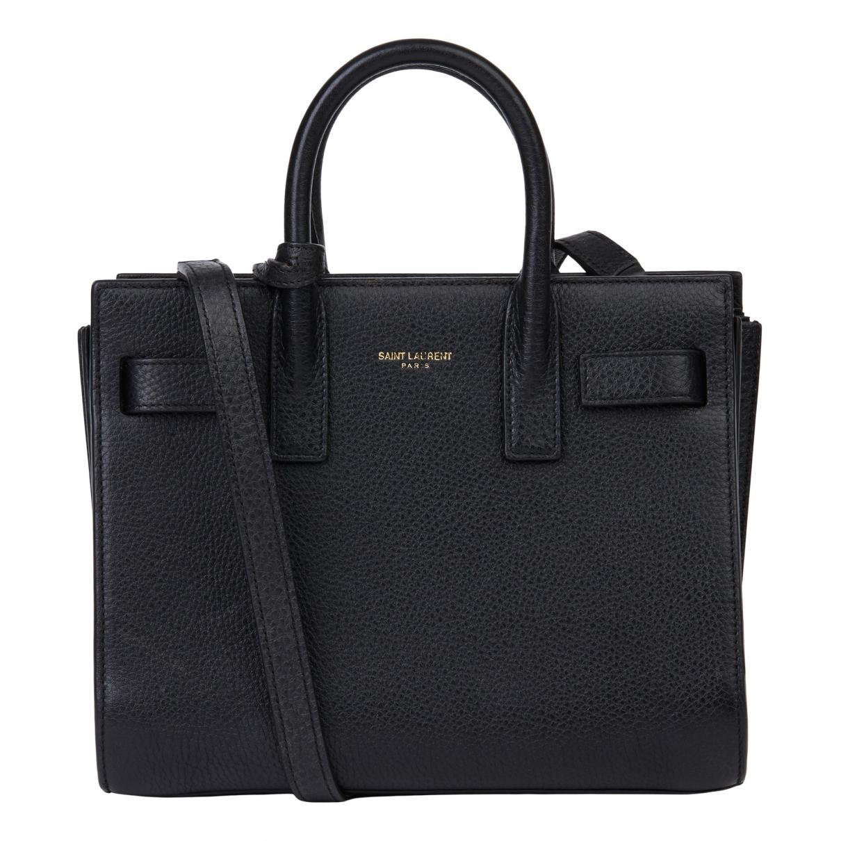 Saint Laurent Sac de Jour Black Leather handbag for Women N