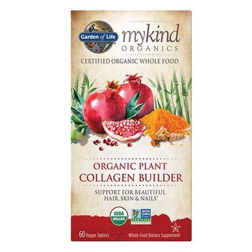 Mykind Organics Organic Plant Collagen Builder 60 Tabs by Garden of Life