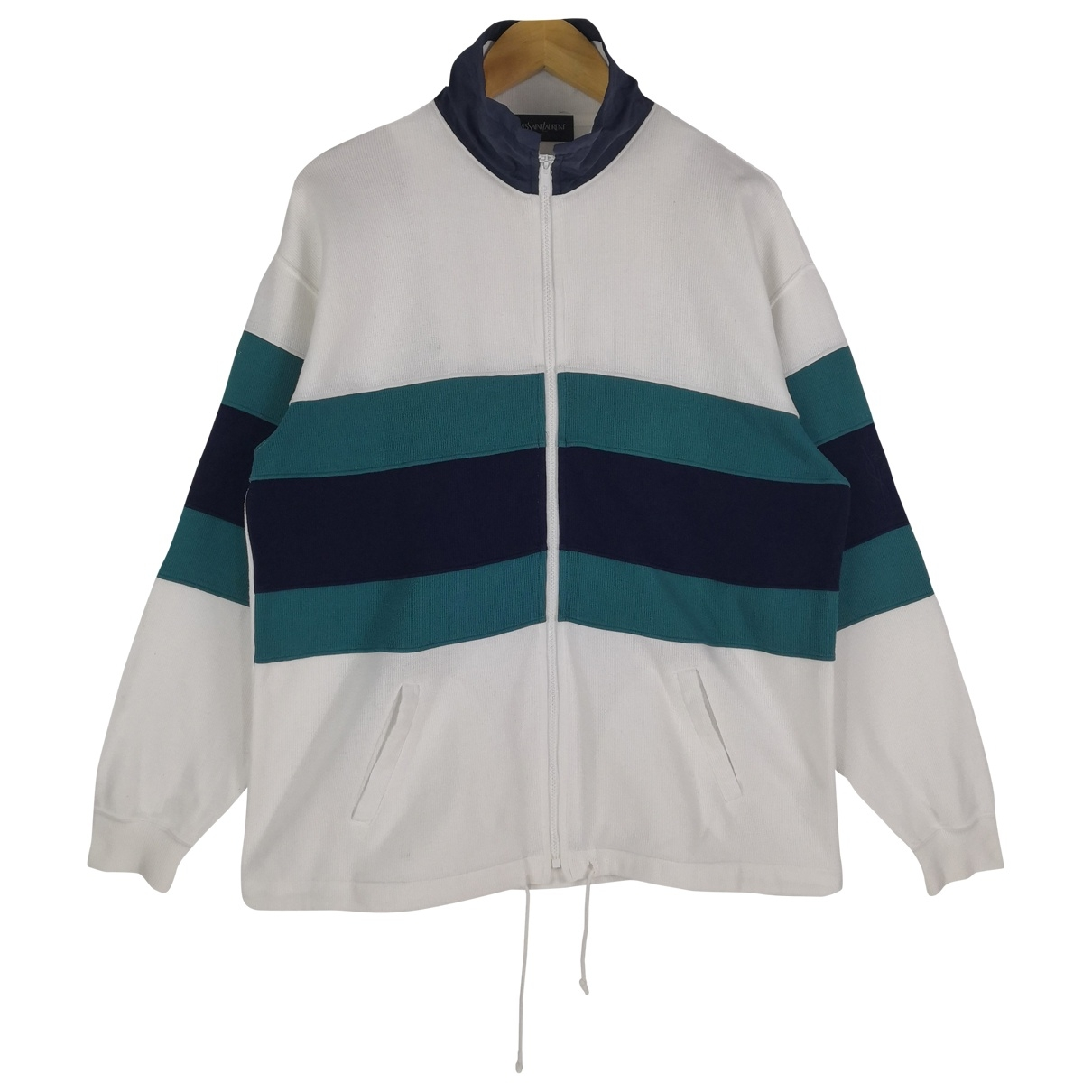 Yves Saint Laurent \N White Cotton Knitwear & Sweatshirts for Men M International