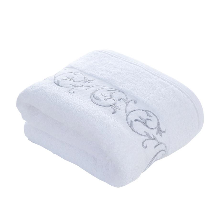Rectangular Soft Cotton Plain Pattern Face&Hand Towel